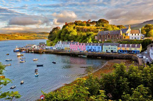 Honeymoon Destinations for Outdoor Enthusiasts:  Scotland