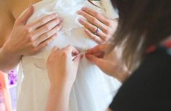What Are the Usual Alterations a Wedding Gown May Need?